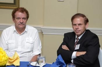 President-Elect David Reimer & Cornelius Thiessen