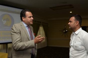 Mr. F. Escarranan & Mr. Ronnie Mohammed